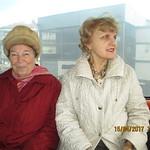Olga si Ana in telegondola.